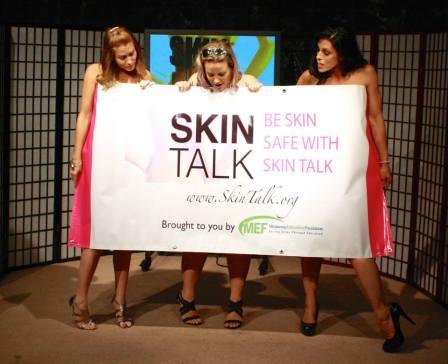 skin talk banner