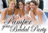 bridal party massage