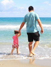 father-daughter-beach-sea-38302